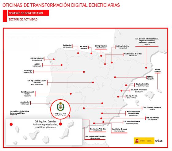 Oficinas de Transformación Digital en España