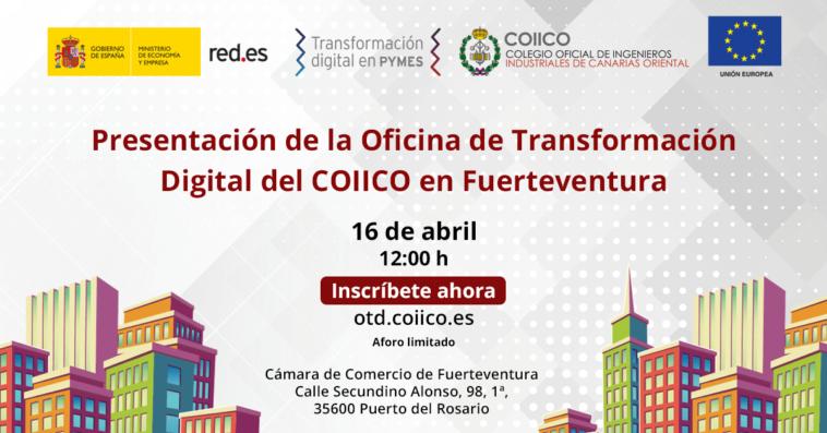 Presentación Oficina de Transformación Digital en Fuerteventura