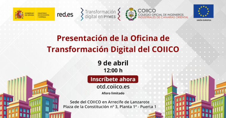 Presentación de la Oficina de Transformación Digital del COIICO en Lanzarote