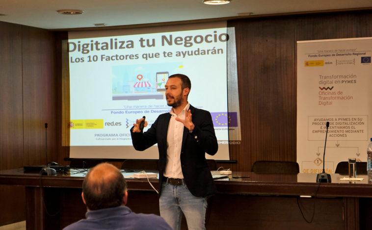 Imagen seminario Juan Merodio Transformación Digital