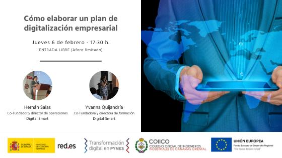 Portada seminario plan de digitalización